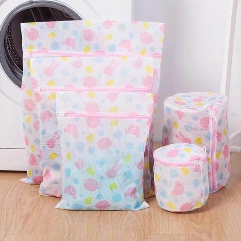 Bộ 5 túi lưới giặt quần áo đủ kích thước