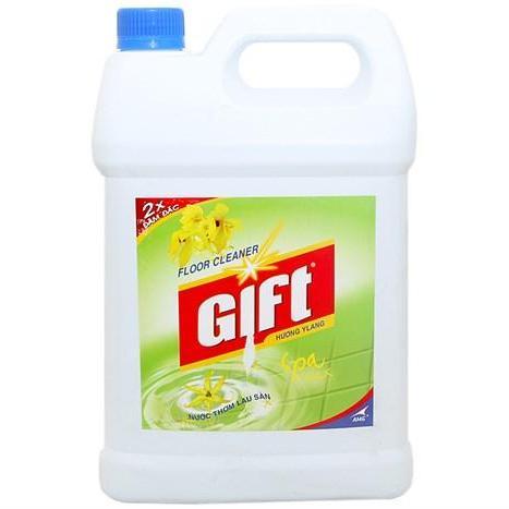 Hình ảnh Nước lau sàn gift hương ylang thơm mát can 4kg