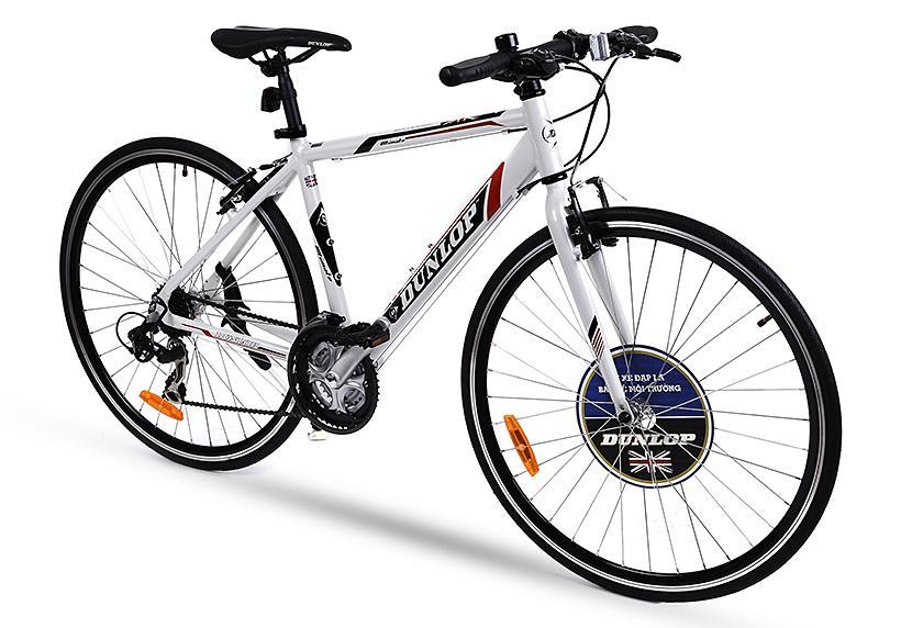 Xe đạp thể thao Dunlop CTB-DLP 246 124 x 20 x 78 cm (Trắng )