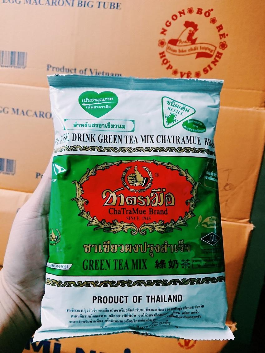 Hình ảnh Trà Sữa Thái Xanh 200g