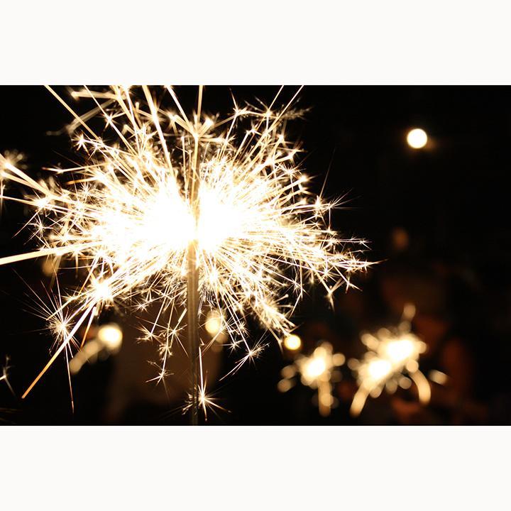 Hình ảnh 5 pháo bông que dài 30cm cầm tay cho sinh nhật, sự kiện - Diệp Linh
