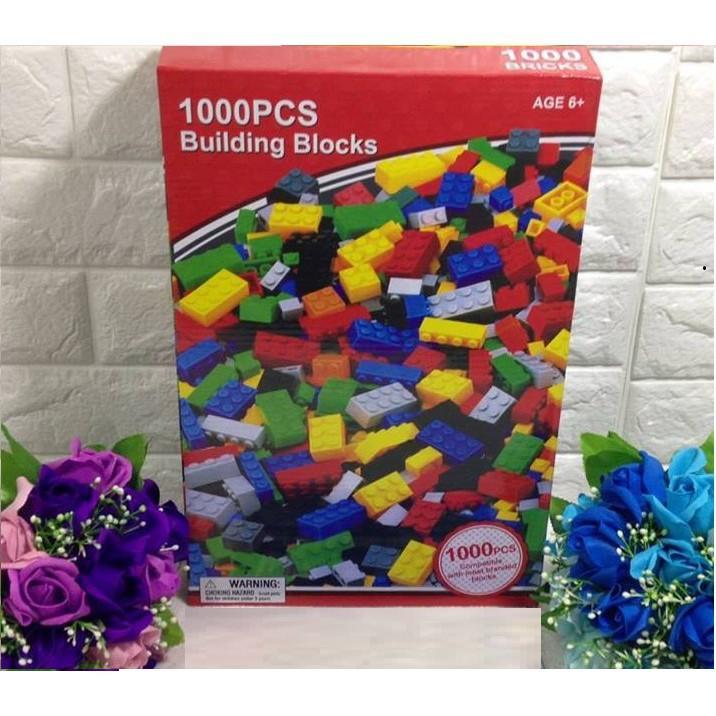 Hình ảnh XẾP HÌNH LEGO 1000 CHI TIẾT CHO BÉ