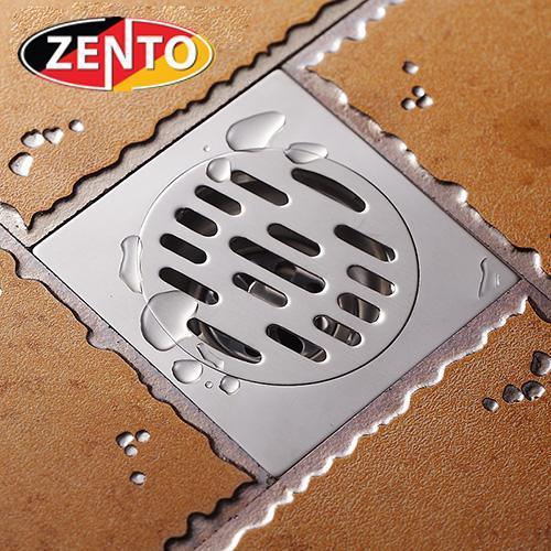 Hình ảnh Phễu thoát sàn chống mùi hôi inox Zento TC109 (10x10cm)