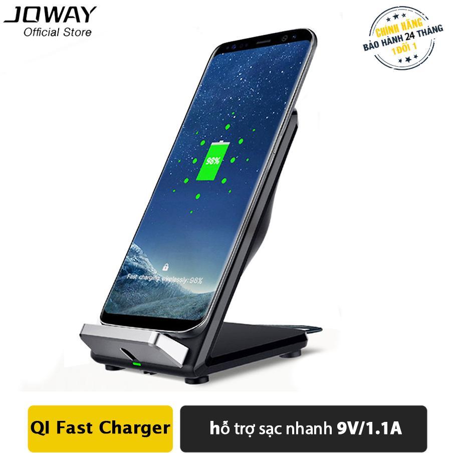 Hình ảnh Sạc Không Dây JOWAY WXC05 chuẩn QI, hỗ trợ sạc nhanh cho Iphone X, 8/8plus, Samsung S8/S8,Oppo, Xiaomi - Hãng phân phối chính thức
