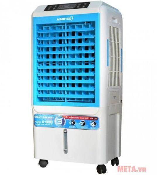 Bảng giá Quạt điều hòa hơi nước làm mát không khí ASANZO A-6000