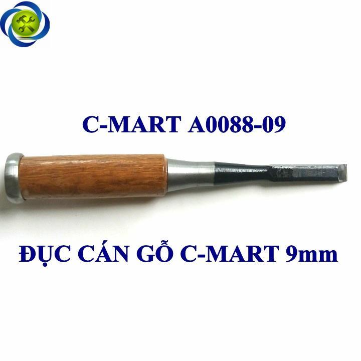 Đục thợ mộc cán gỗ C-Mart A0088-9 9mm