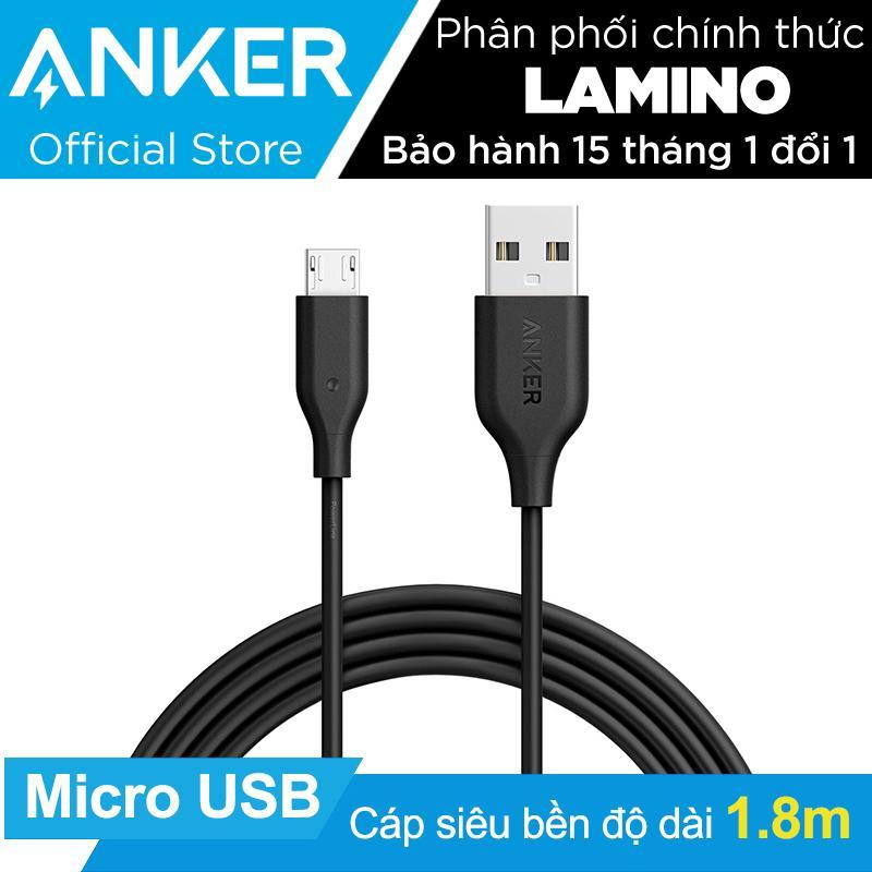 Giá Bán Cap Sạc Sieu Bền Anker Powerline Micro Usb 1 8M Đen Hang Phan Phối Chinh Thức Anker Hồ Chí Minh