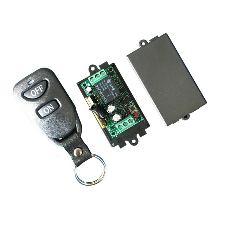 Bộ điều khiển từ xa 12VDC học lệnh kèm điều khiển (remote) bằng sóng RF