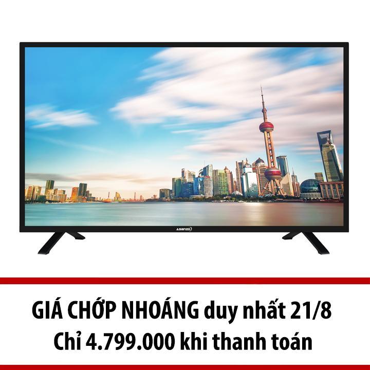 Hình ảnh Tivi LED Asanzo 40inch Full HD – Model 40T550 (Đen)