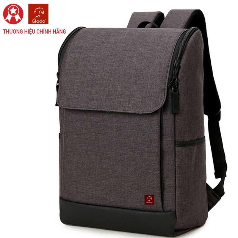 Balo Laptop Glado Màu Xám Nâu - BLG011