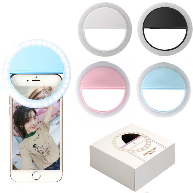 Hình ảnh Đèn selfie Ring light cho điện thoại tặng kèm dây sạc ( loại xịn )