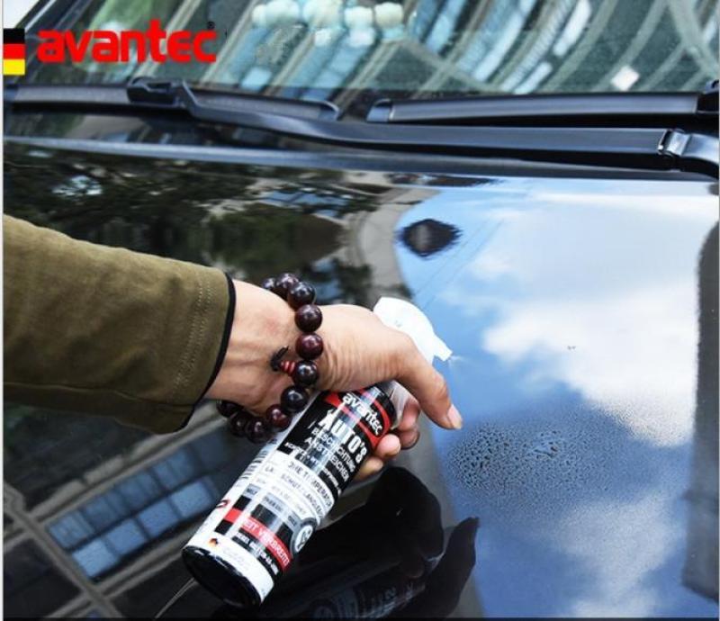 Dung dịch phủ nano xe ô tô Avantec từ Đức 250ml + tặng dung dịch tẩy rửa xe + tặng 1 bông lau