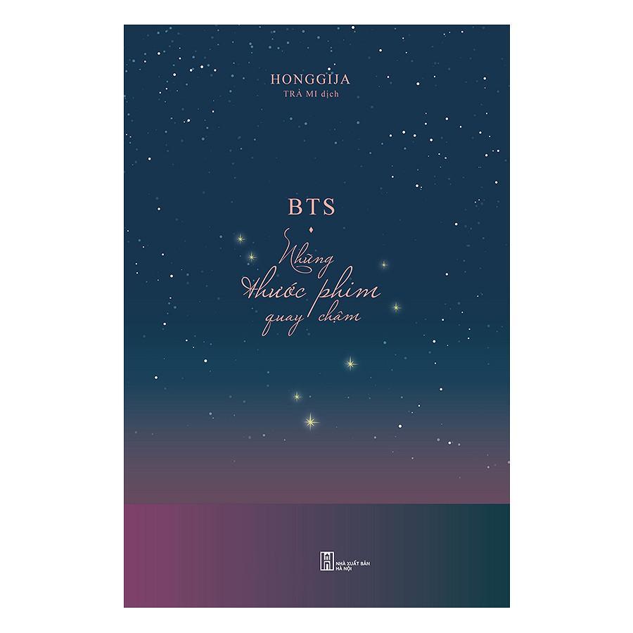 Mua BTS - Những thước phim quay chậm (bìa cứng)