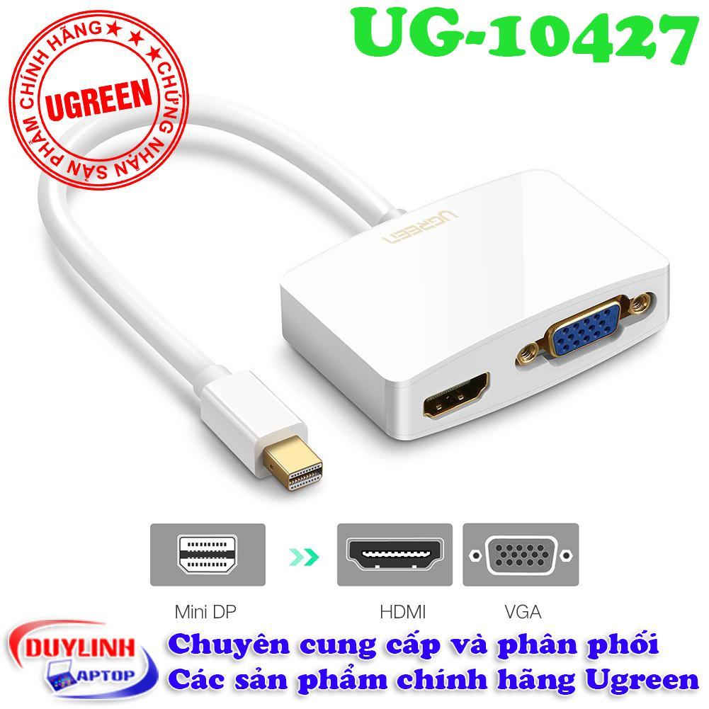 Cap Chuyển Đổi Tin Hiệu Mini Displayport Sang Hdmi Va Vga Ugreen 10427 Ugreen Rẻ Trong Hà Nội