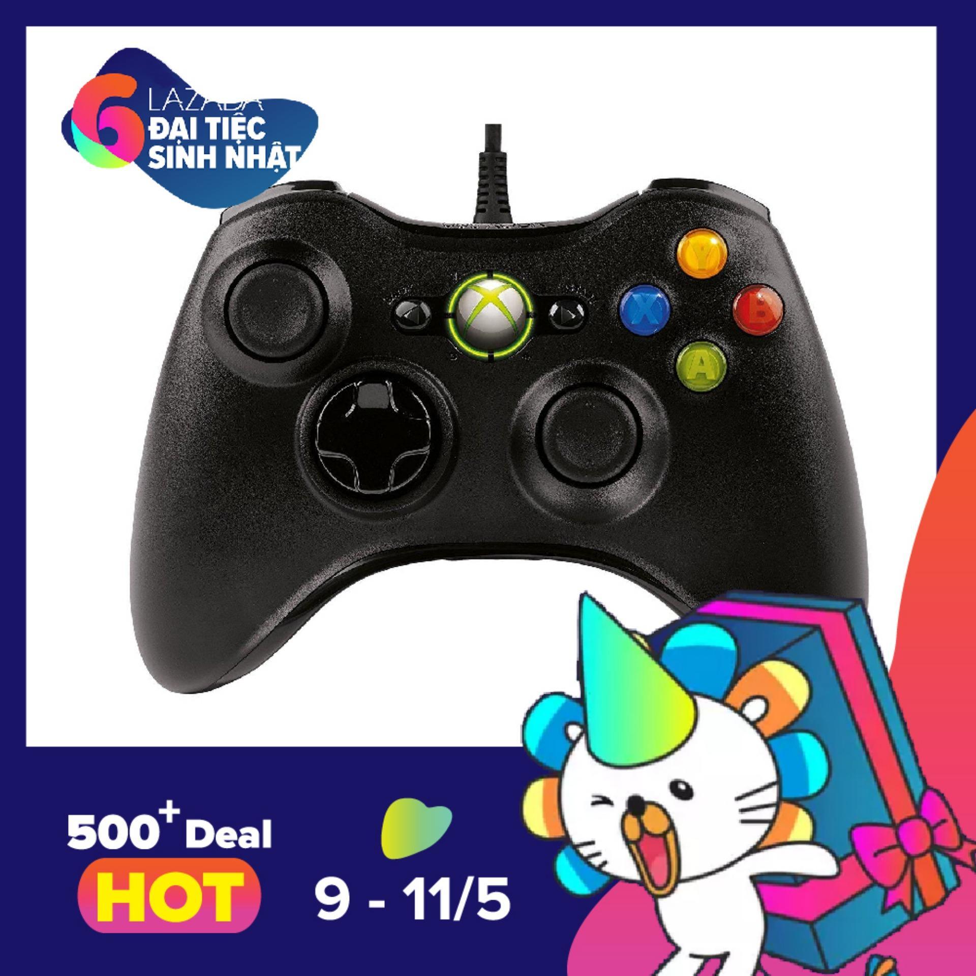Giá Bán Tay Cầm Xbox360 Cho May Tinh Tốt Nhất
