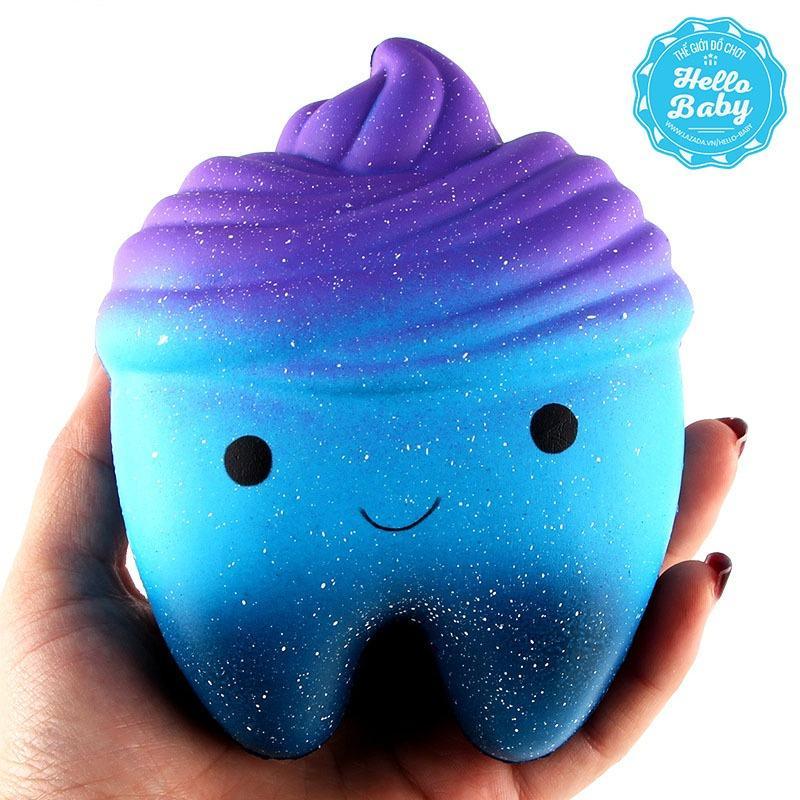 Hình ảnh Squishy - Răng galaxy (12x9x7cm) / Hello Baby