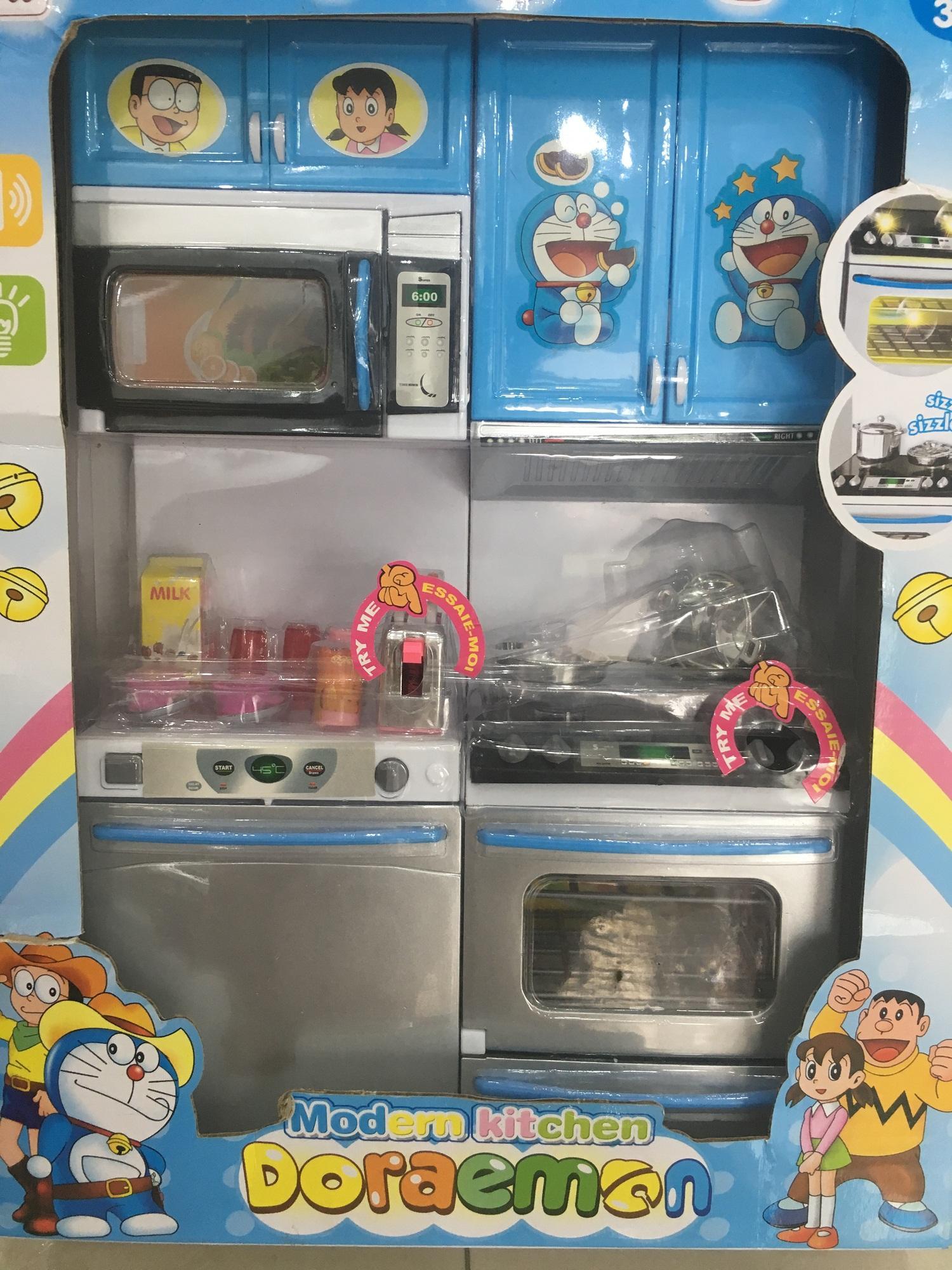 Hình ảnh Bộ đồ làm bếp - Đồ chơi nấu ăn Doremon