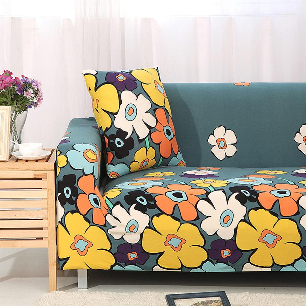 YSJS Trade Hot Flowers Pattern Decorative Back Cushion Covers Slipcover Sofa Cover Spring blooming Double people 150 ~ 185cm