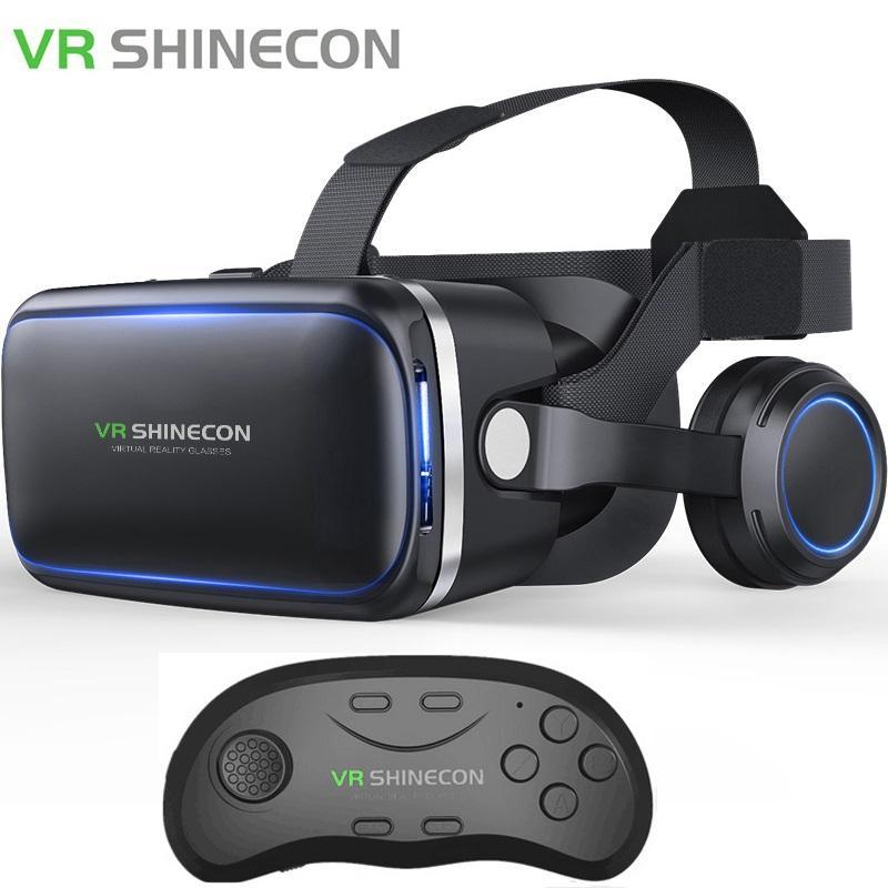 Hình ảnh Kính Thực Tế Ảo VR Shinecon 6.0 tặng tay cầm chơi game