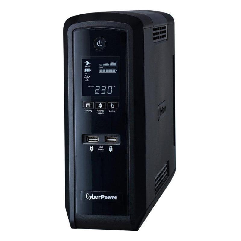 Bảng giá Bộ lưu điện UPS CyberPower CP1500EPFCLCD 1500VA/900W (UPS cho máy gaming) Phong Vũ