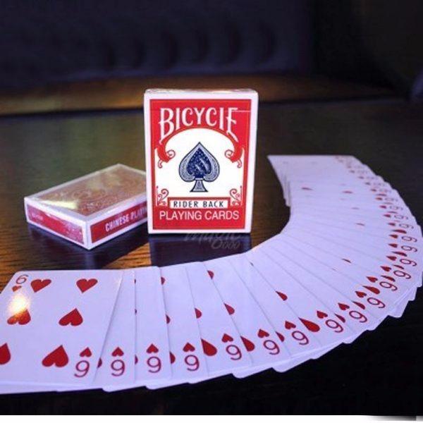 Hình ảnh Bộ bài ma quỷ Svengali deck USA , biến cả bộ bài thành lá bài khán giả chọn + dvd hướng dẫn miễn phí