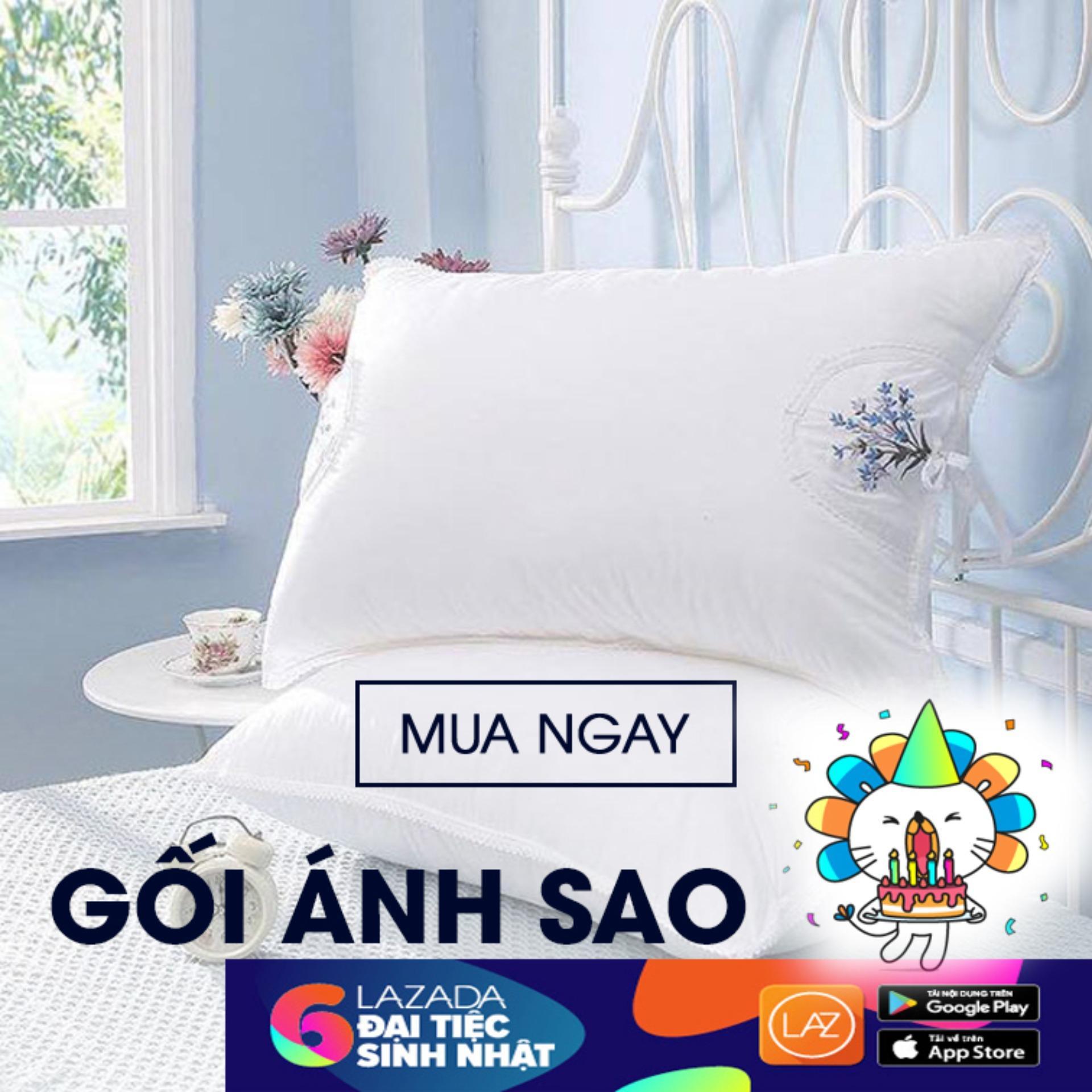Bán Cặp Gối Hơi Cao Cấp Anh Sao 50X70Cm Rẻ Trong Hồ Chí Minh
