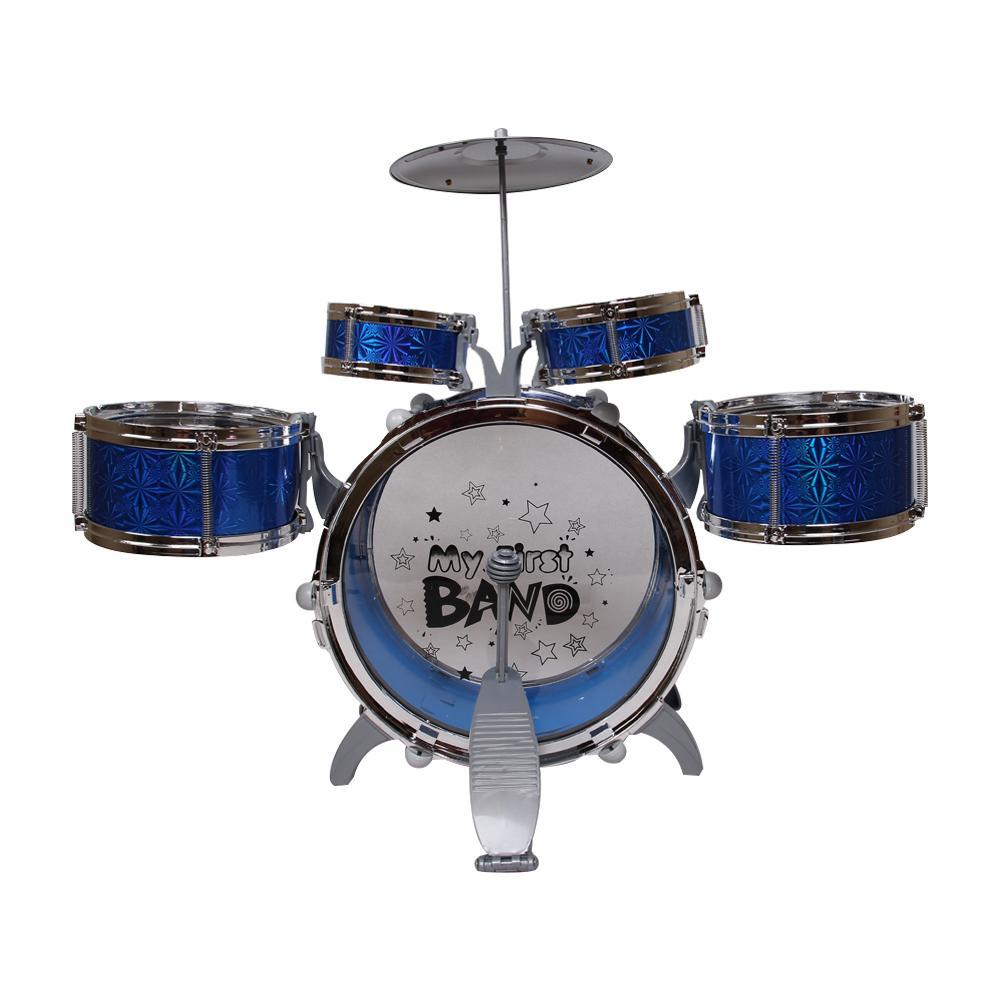 Hình ảnh Đồ chơi bộ 5 trống Jazz Drum Cỡ lớn (Tặng kèm ghế)