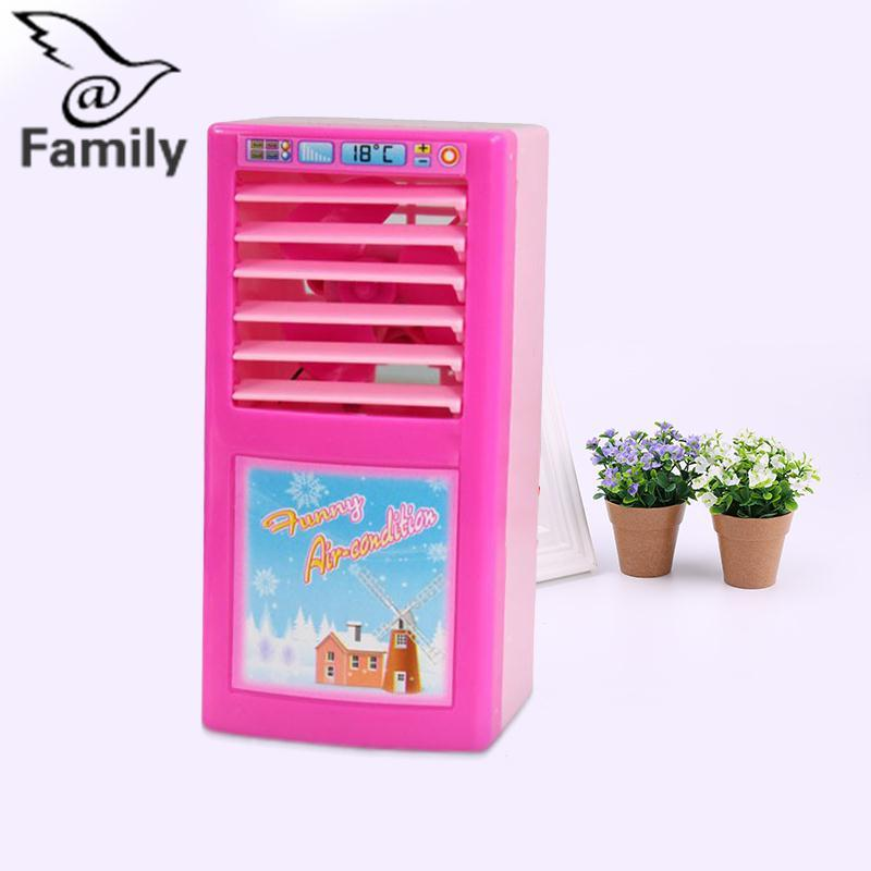 Hình ảnh Big Family: Kids Simulated Pretend Play House Home Air Conditioner Pretend Early Education Toys Gift - intl