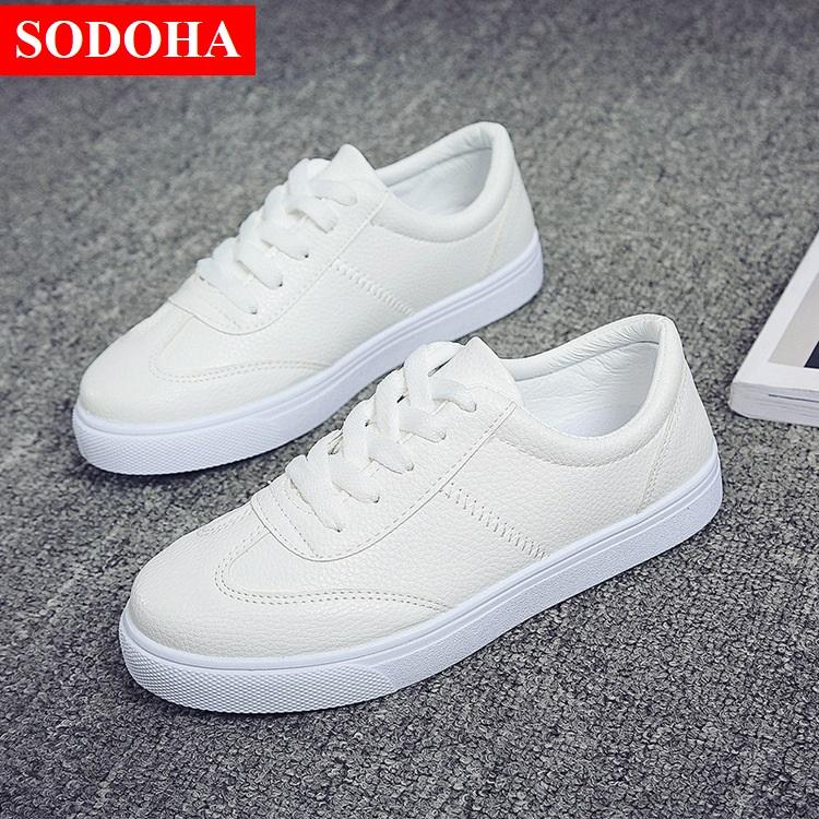 Hình ảnh Giày Nữ Thời trang Sneak 2018 Sodoha SDH19929W