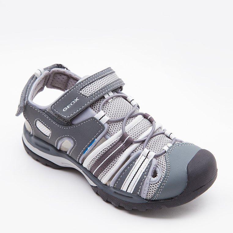 Bán Giay Sneakers Geox J Borealis B C Grey White Trực Tuyến