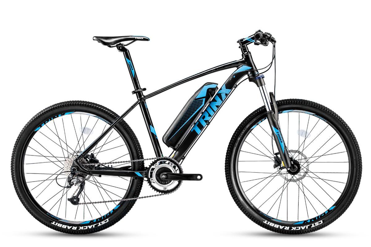 Xe đạp địa hình trợ lực TRINX X-TREME X1E Black Blue 2018