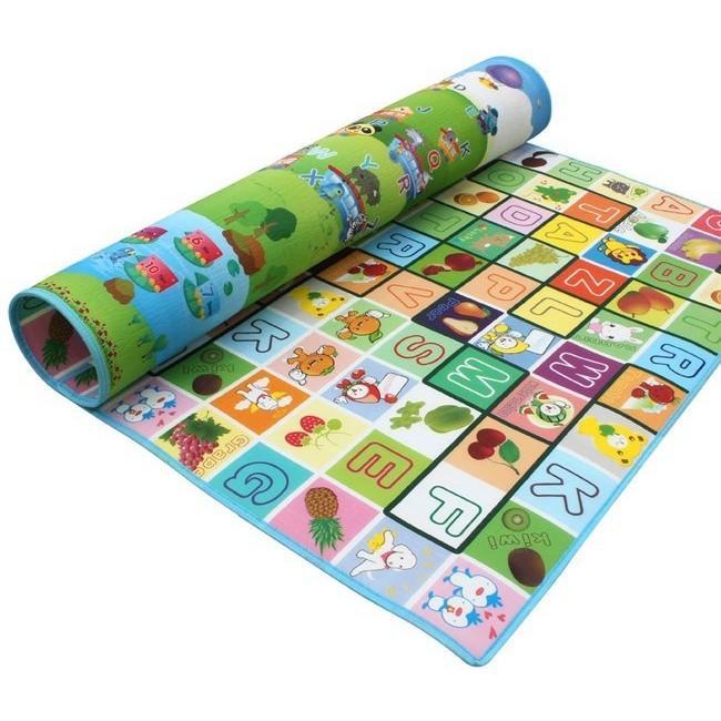 Hình ảnh Thảm xốp 2 mặt cho bé Maboshi 1,8Mx2M (Nhiều màu)