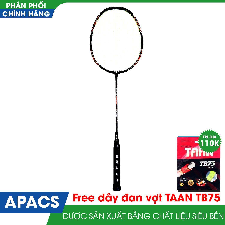 Hình ảnh Vợt cầu lông APACS NANO 9900 new (Đen /đỏ)