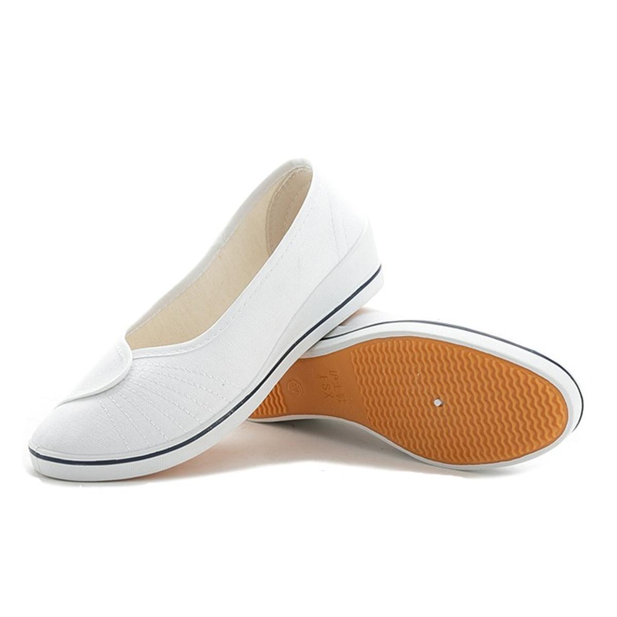 Giày búp bê đi bộ cực êm chân (Trắng)