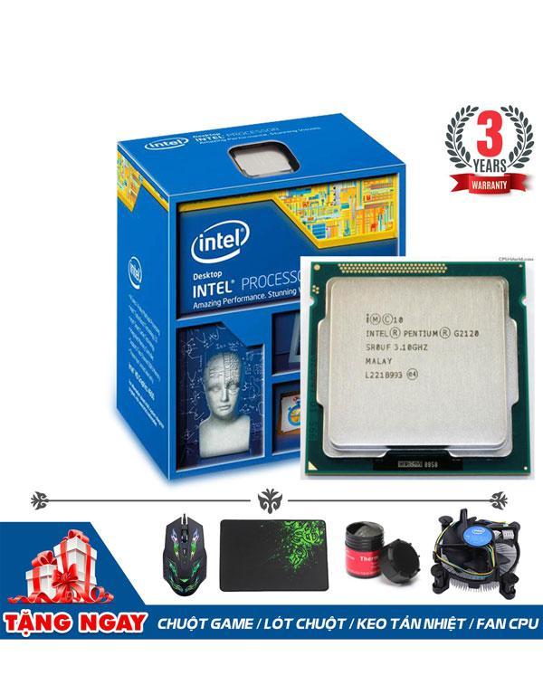 Hình ảnh CPU Intel Pentium G2120 (2 lõi, 4 luồng) + Quà Tặng - Hàng Nhập Khẩu