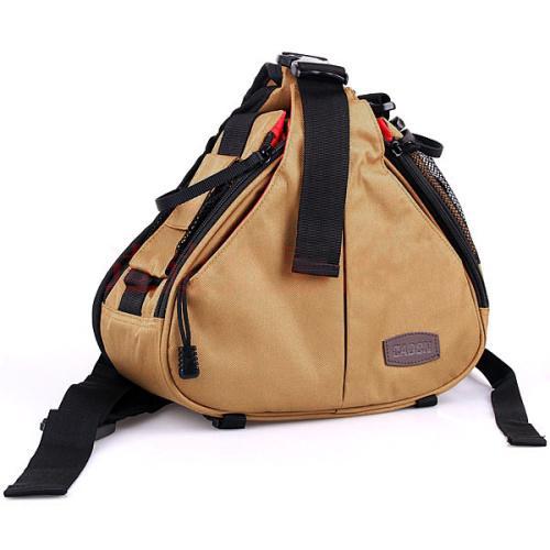 Hình ảnh Túi đeo chéo đựng máy ảnh chất liệu cao cấp + Túi chống thấm nước