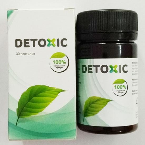 Detoxic diệt ký sinh trùng 2