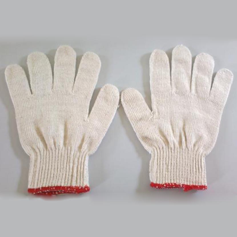 Hình ảnh Sỉ 10 đôi găng tay bảo hộ lao động (Trắng)