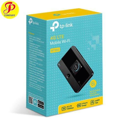 Mua Bộ Phat Wifi 3G 4G Tp Link M7350 Đen Tp Link Rẻ