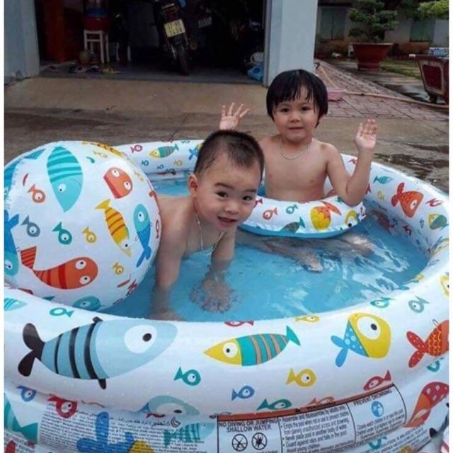 Bể bơi 3 chi tiết cho bé