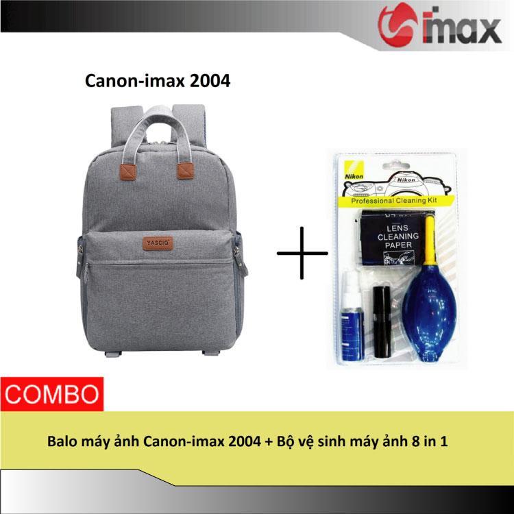 Hình ảnh Balo máy ảnh Canon-imax 2004 + Bộ vệ sinh máy ảnh 8 in 1