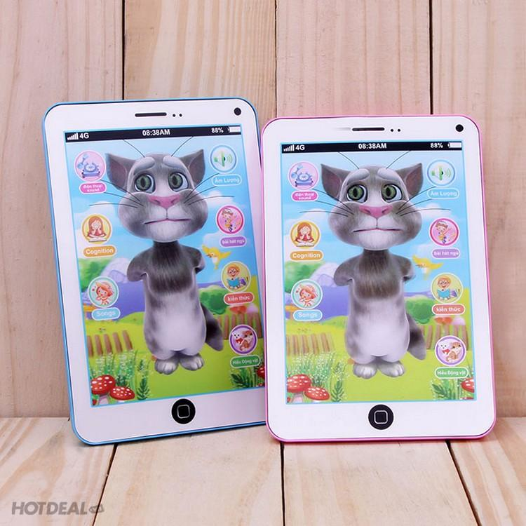 Hình ảnh iPad Mèo Tom thông minh: Biết hát, kể chuyện, thơ...