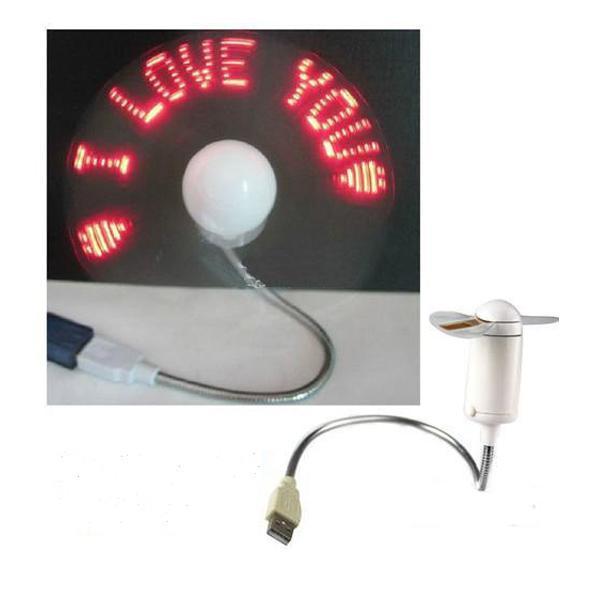 Hình ảnh Quạt đèn led chạy chữ I Love You