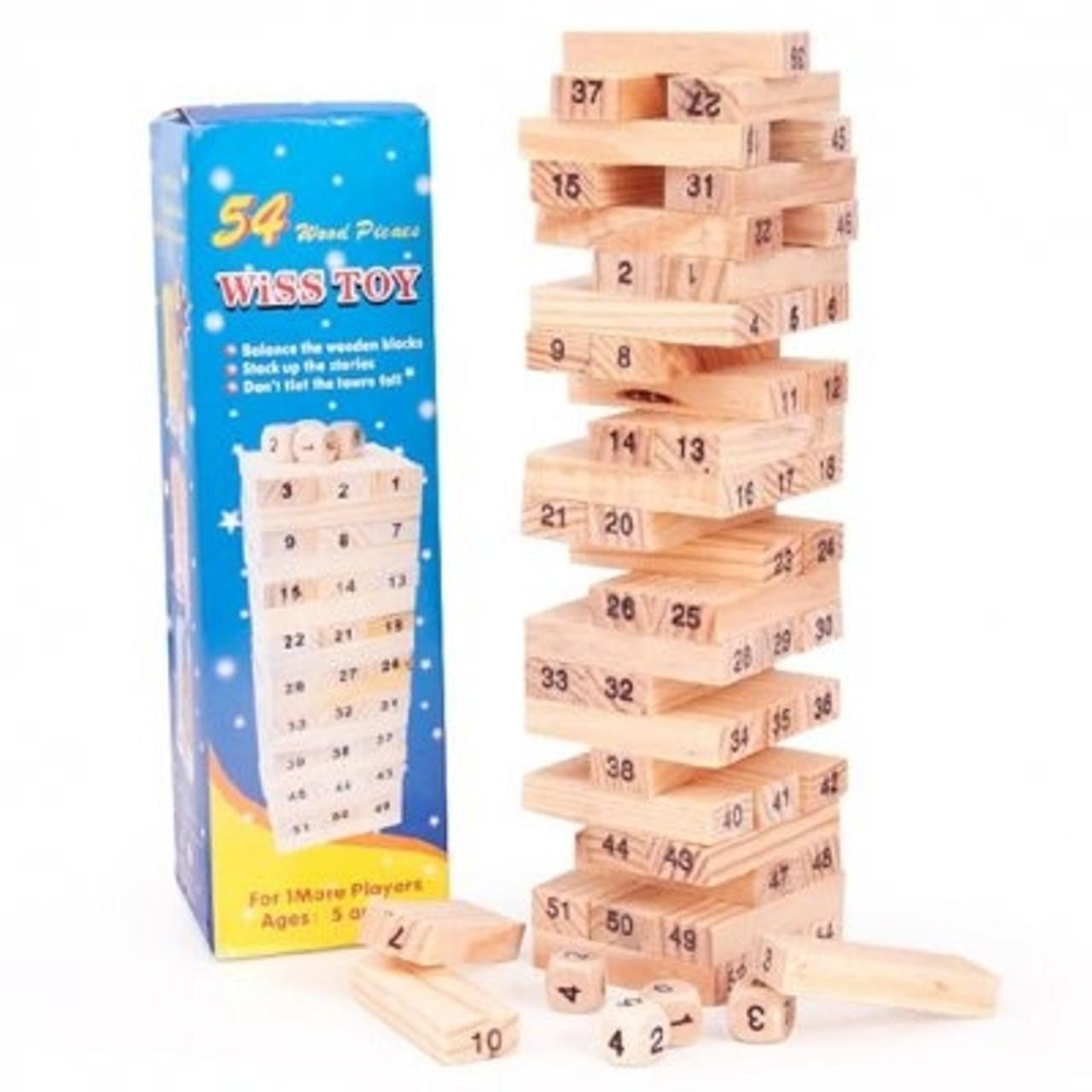 Hình ảnh Đồ chơi rút gỗ nhỏ