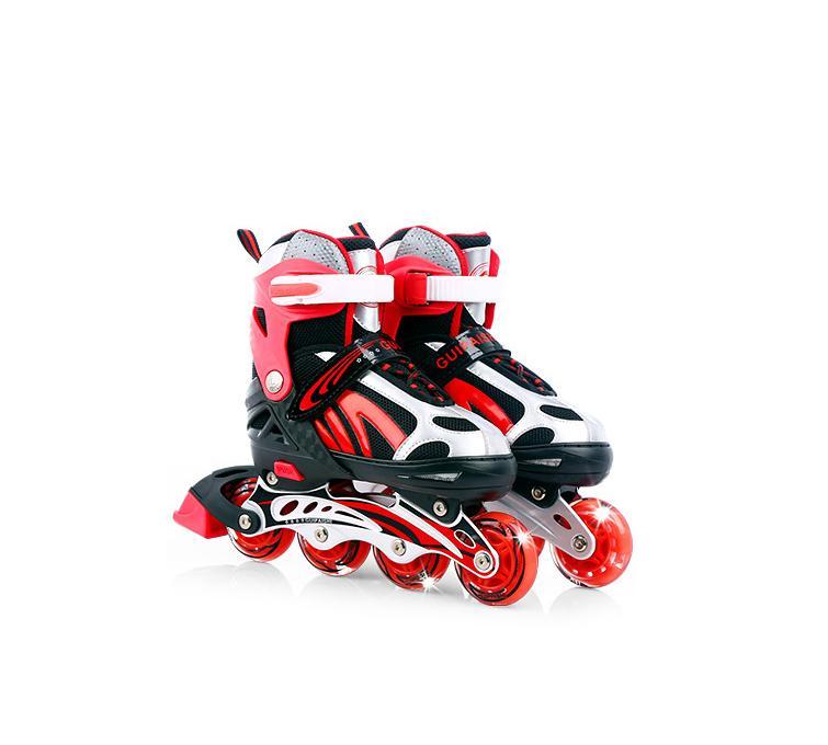 Giày trượt Patin LongFeng 4 bánh đèn LED (Size người lớn tùy chỉnh 39-43)