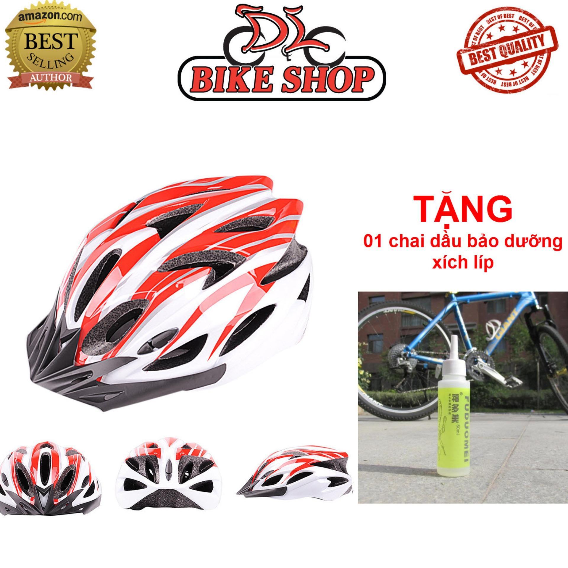 Hình ảnh Mũ bảo hiểm xe đạp - Chất liệu Carbon Siêu nhẹ, cực an toàn - Phù hợp cho trẻ từ 6 tuổi cho tới người lớn
