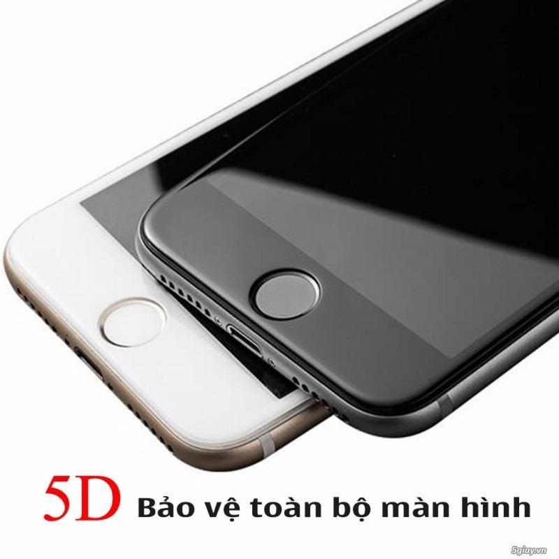 Kính cường lực 5D Full màn cho Iphone 6/6P/6S/,7,7P.8/8P Nguyên Hộp - Cực sịn