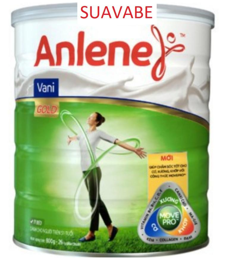 Sữa bột Anlene Gold Bonemax Vanilla 800g