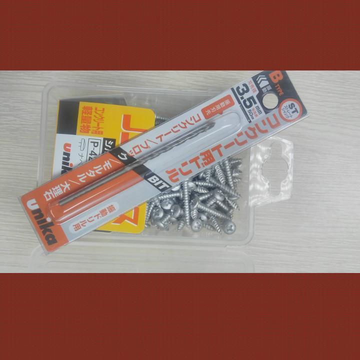 Bán Mua Vit Bắn Be Tong Unika M4X32 Đầu Du Khong Cần Dung Tắc Ke Nhựa