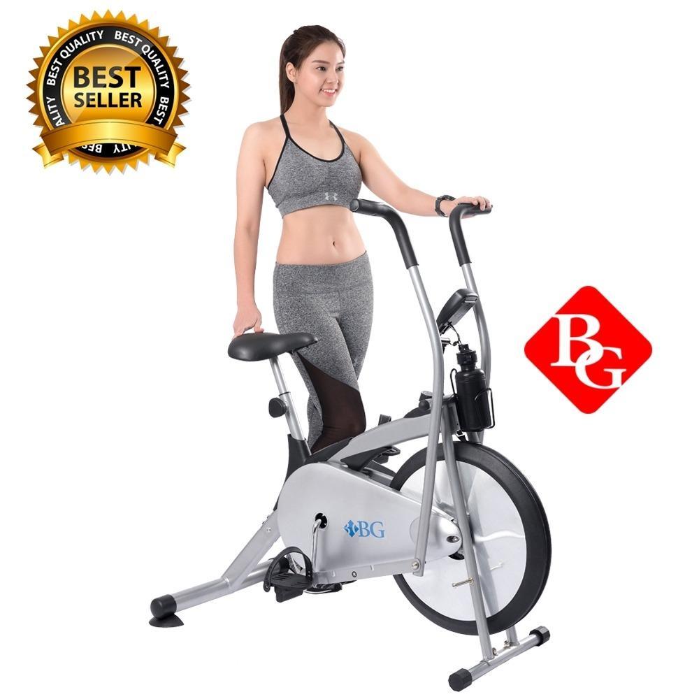 Hình ảnh BG - Xe đạp tập thể dục Air bike-Mẫu 8701(Grey)